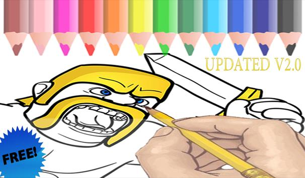Coloring for Clash of Clans apk screenshot
