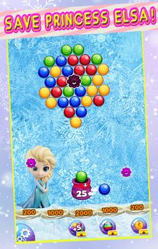 Bubble ice queen – Elsa Princess In The Ice World screenshot 1