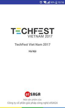 TechFest Vietnam 2017 - Ngày hội khởi nghiệp poster