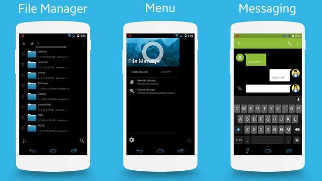 CM13 Ice Cream Sandwich Theme apk screenshot