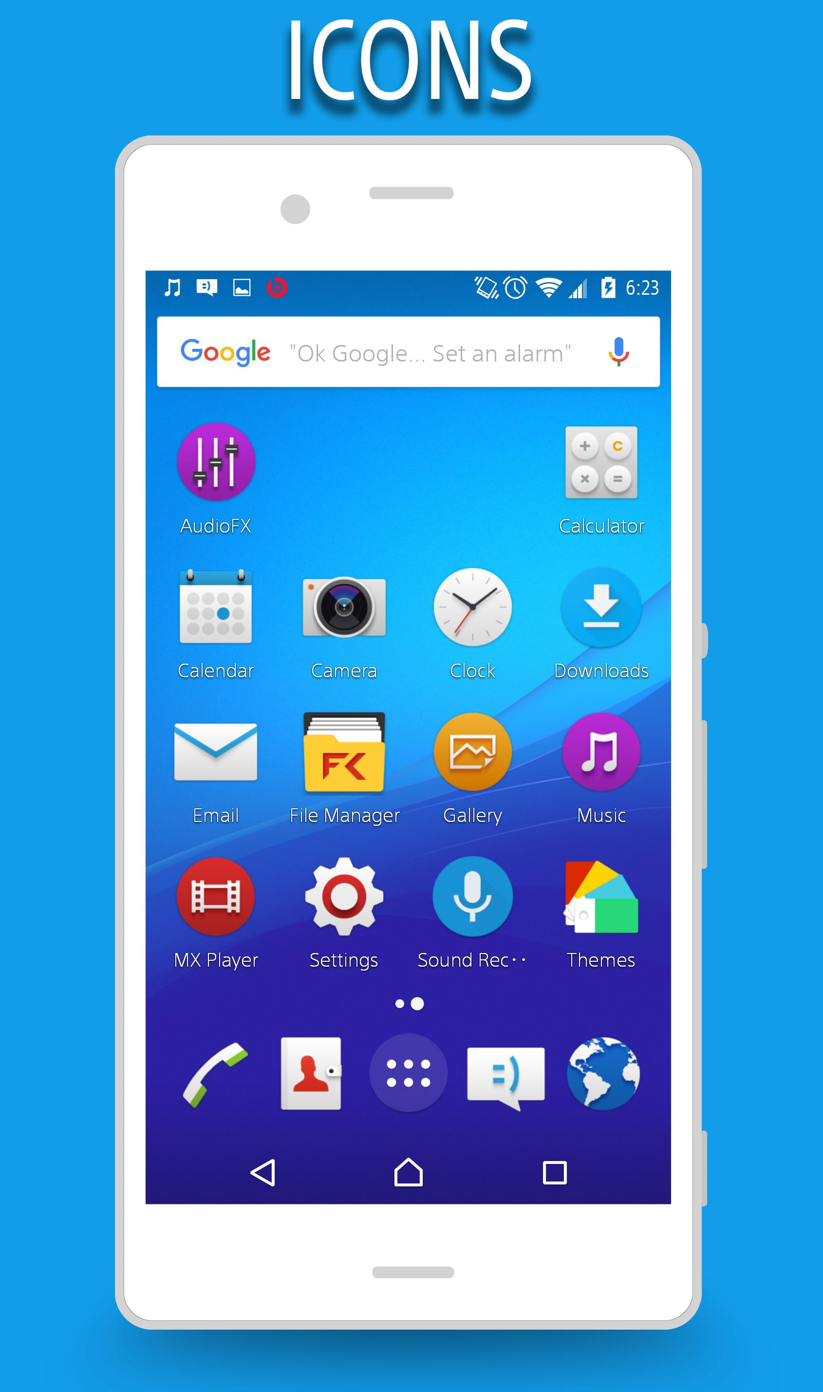 CM13/12 X Xperia Z4 Theme for Android - APK Download