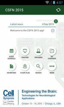 CSFN2015 apk screenshot