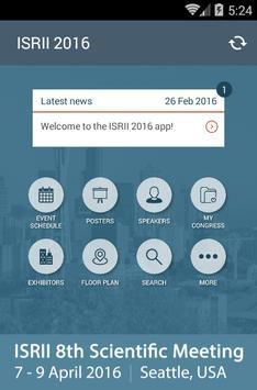 ISRII2016 screenshot 1