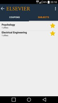 Elsevier Coupons apk screenshot