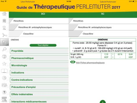 Guide de thérapeutique 2017 apk screenshot