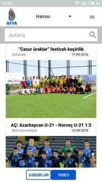 AFFA News screenshot 2