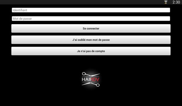 HAIRDV apk screenshot