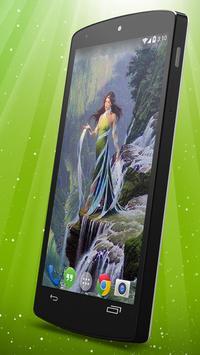 Elven Live Wallpaper apk screenshot