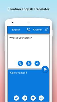 Croatian English Translator screenshot 1