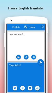 Hausa English Translator screenshot 2
