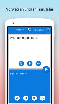 Norwegian English Translator apk screenshot