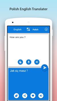 Polskie English Translator screenshot 2