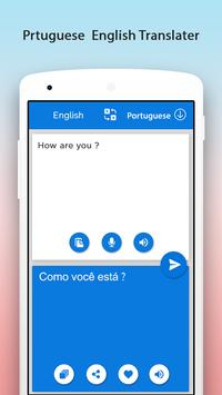 Portuguese English Translator screenshot 2