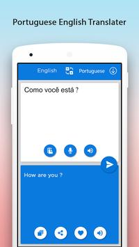 Portuguese English Translator screenshot 3
