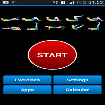 Daily Ab Exercise screenshot 1
