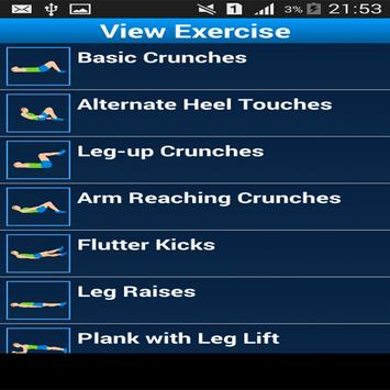 Daily Ab Exercise screenshot 2