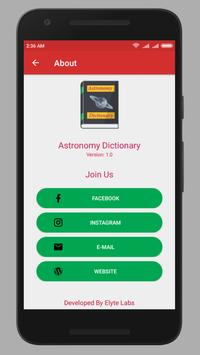 Astronomy Dictionary screenshot 4