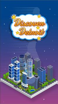 Discover Detroit poster