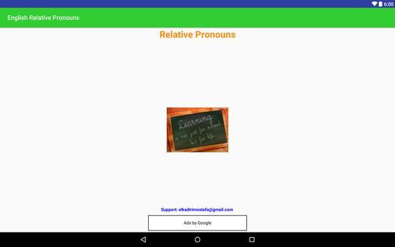 ENGLISH RELATIVE PRONOUNS screenshot 9
