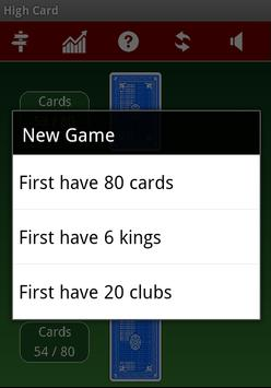 High Card apk screenshot