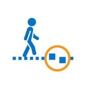 Walkway Check icon