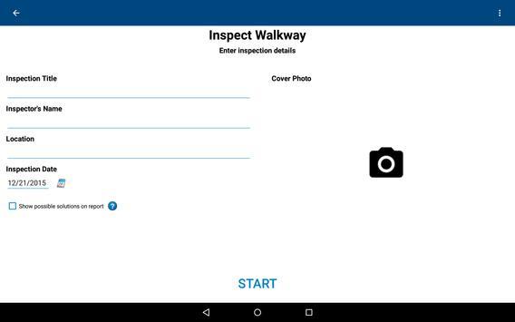 Walkway Check apk screenshot