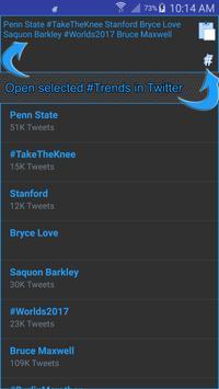 Trends Hub for Twitter screenshot 3