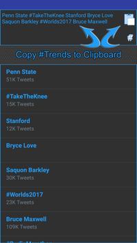 Trends Hub for Twitter screenshot 2