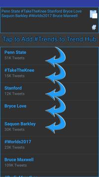 Trends Hub for Twitter screenshot 4