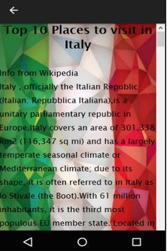Italy Travel Booking apk screenshot