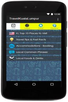 Kuala Lumpur Travel Booking poster