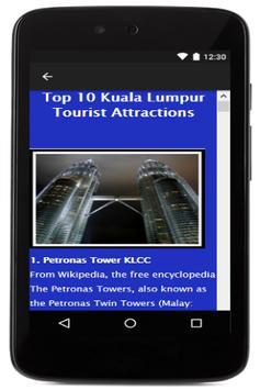 Kuala Lumpur Travel Booking screenshot 1