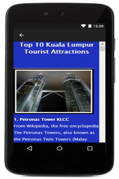 Kuala Lumpur Travel Booking screenshot 5