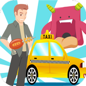Loop Alien Taxi 2D Game icon