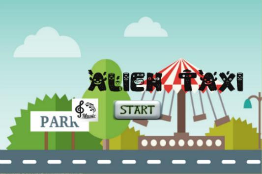 Loop Alien Taxi 2D Game poster