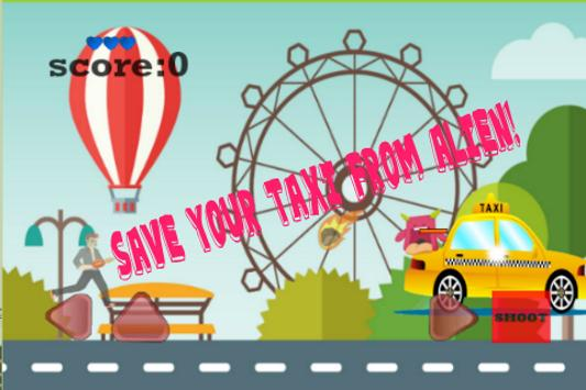 Loop Alien Taxi 2D Game screenshot 1