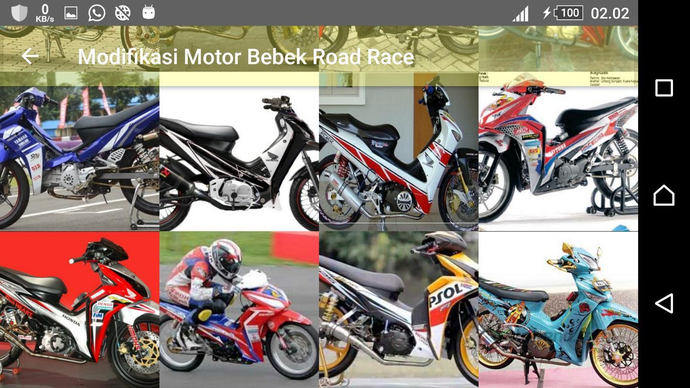 Modifikasi Motor Bebek Road Race For Android APK Download
