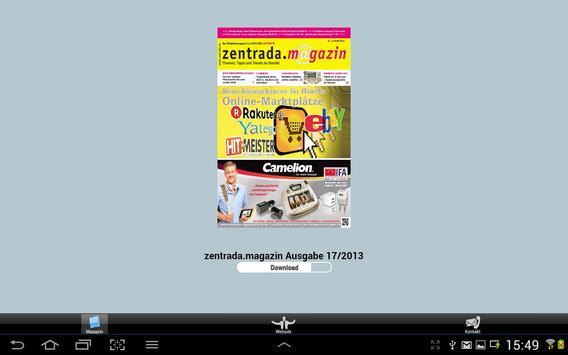 zentrada.magazin poster