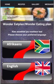 Wonderwerk Eating Plan poster