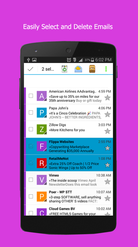 Email for Yahoo App for Android - APK Download