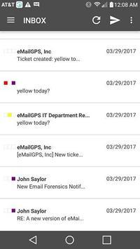 eMailGPS screenshot 1