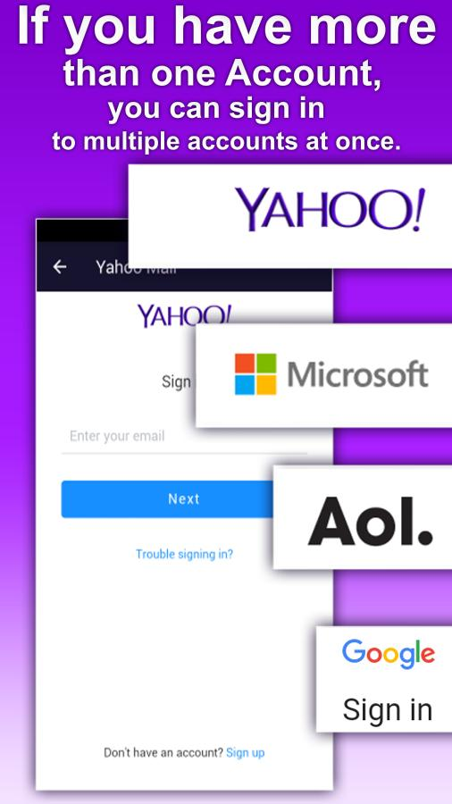 Email for Yahoo Mail All in one poster