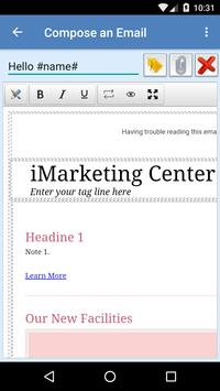 iMarketing Center apk screenshot