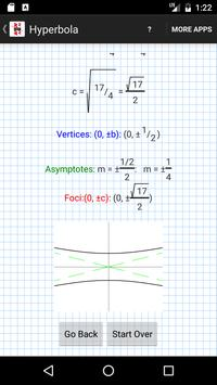 Conic Sections Solver screenshot 1