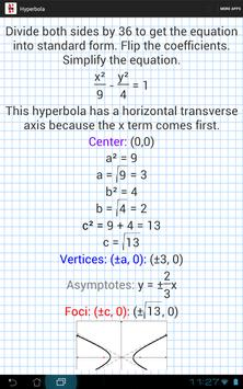 Conic Sections Solver screenshot 5