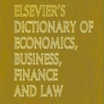 Economics Terms Dictionary apk screenshot