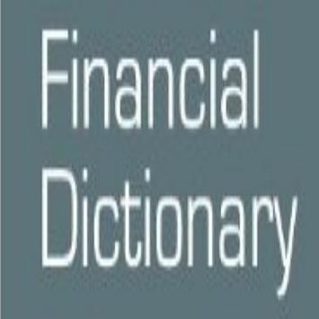 Financial Terms Dictionary poster