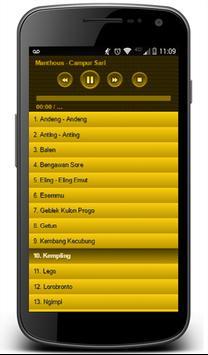 Manthous Campur Sari Songs screenshot 5