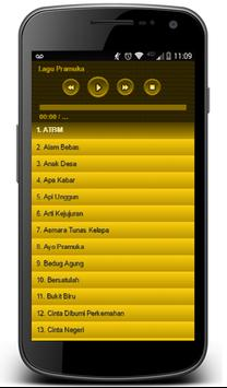 Pramuka All Song apk screenshot