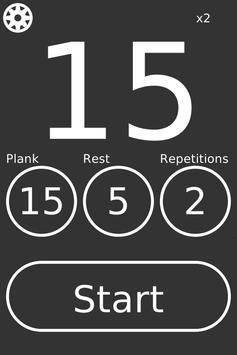 PlankTimer screenshot 1